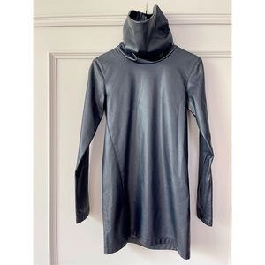 NEW on POSH🔥 Celine Leather Turtleneck Dress